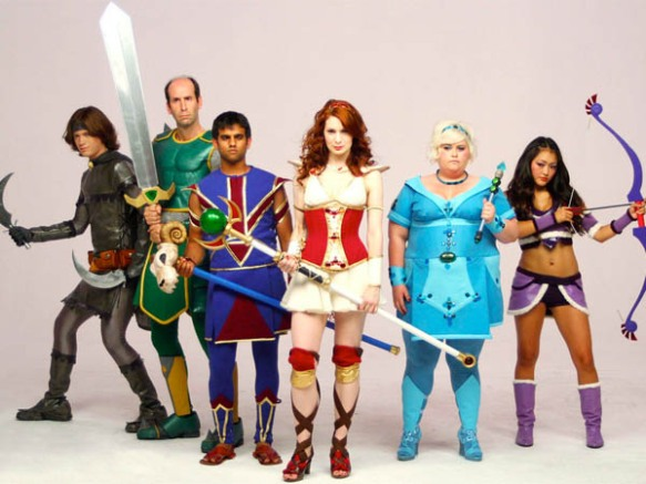 The Guild - Knights Of Good Cosplay - Felicia Day ROCKS
