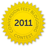 Unbounce.com Conversion Fest Blog Contest 2011