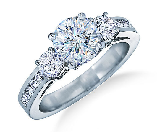 Three Stones - Engagement Ring - JamesAllen.com