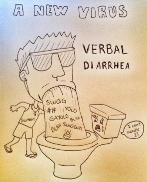 a-new-virus-verbal-diarrhea-sketch-pinterest